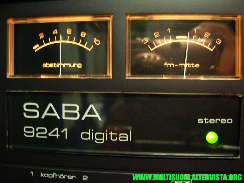 Saba Digital 9241 - moltisuoni3