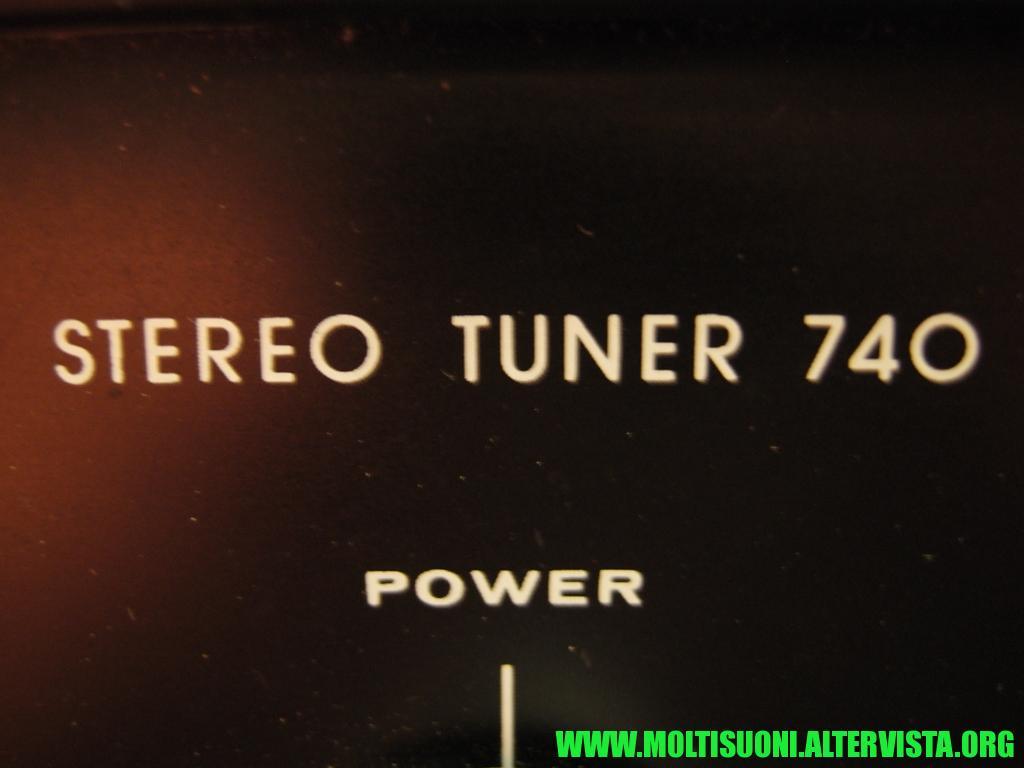 Augusta stereo tuner 740 - Moltisuoni 26