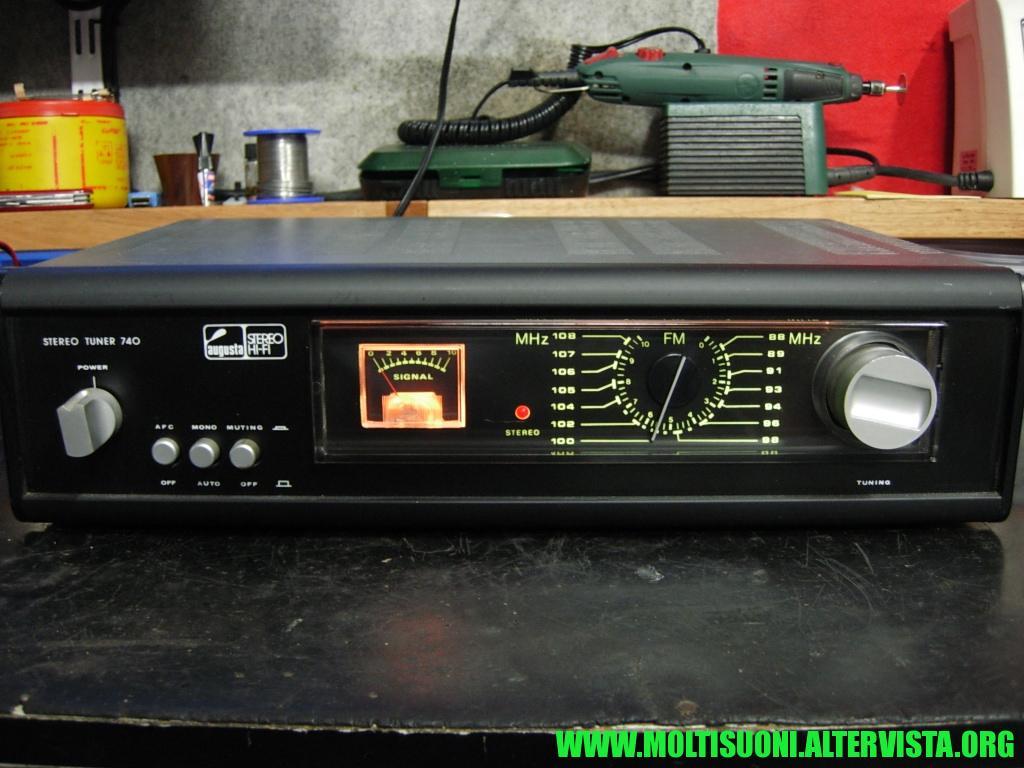 Augusta stereo tuner 740 - Moltisuoni 29