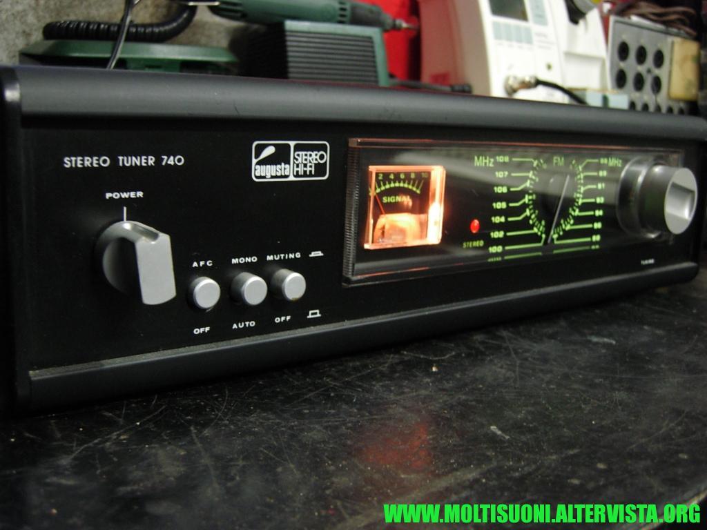 Augusta stereo tuner 740 - Moltisuoni 8