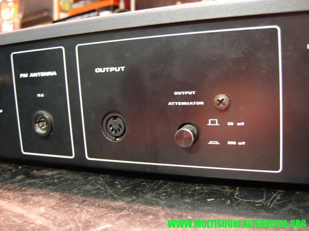 Augusta stereo tuner 740 - Moltisuoni 12