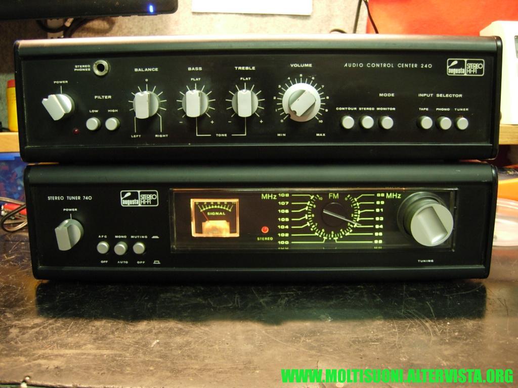 Augusta stereo tuner 740 - Moltisuoni 5