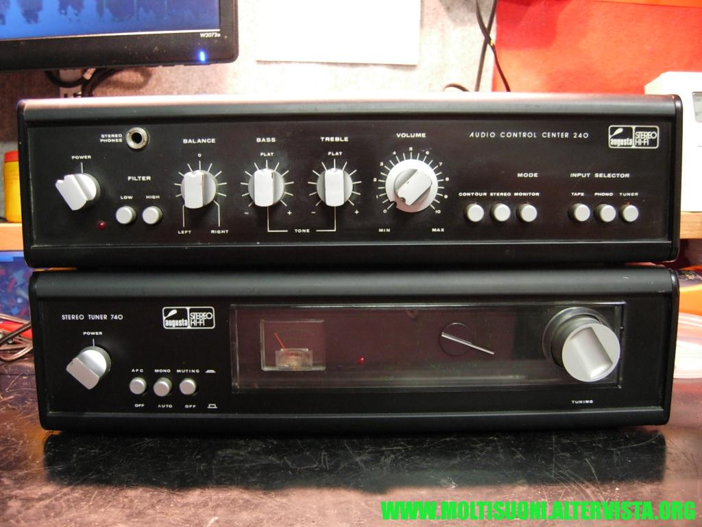 Augusta stereo tuner 740 - Moltisuoni 7