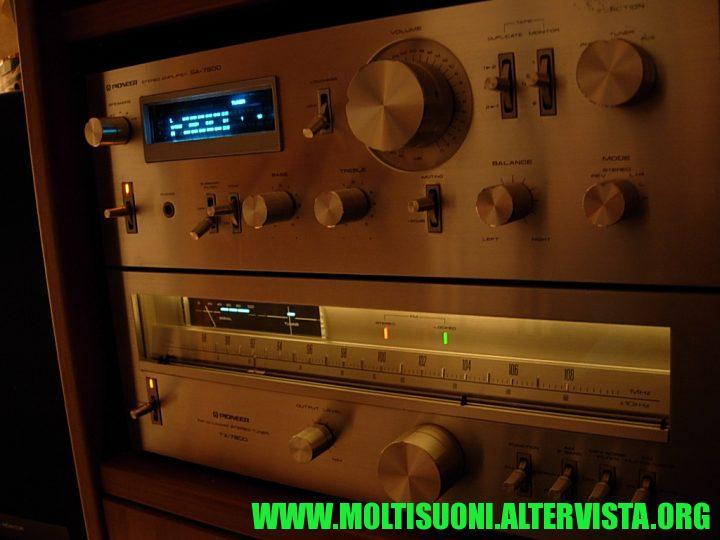 Moltisuoni - Pioneer SA7800