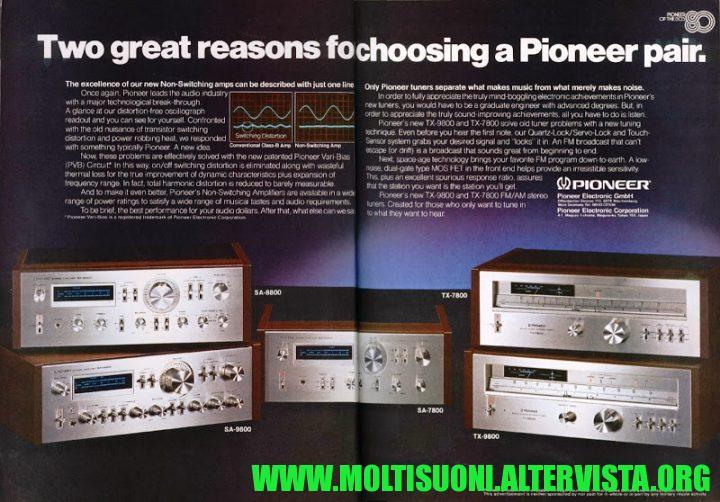 Moltisuoni - Pioneer TX7800
