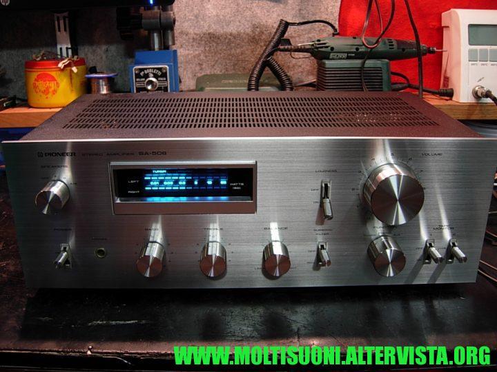 Moltisuoni - Pioneer SA-508 - frontale lucido