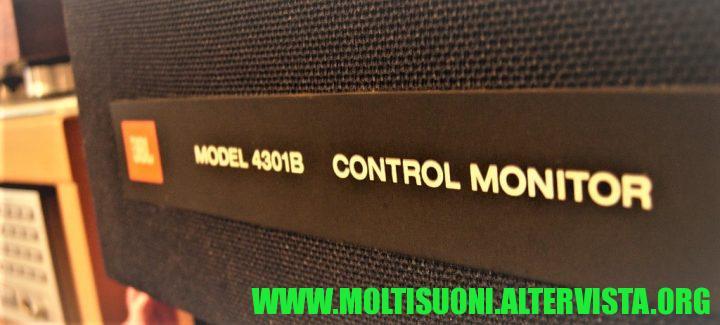 Moltisuoni - JBL 4301B Control monitor