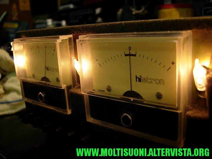 hiletron 5050 moltisuoni - vu meter signal strenght
